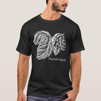 Salto del lupulus del Humulus para la cerveza del Camiseta