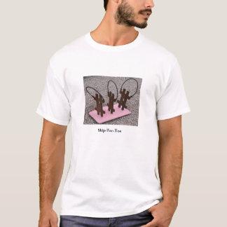 Salto-TAC-Dedo del pie Camiseta