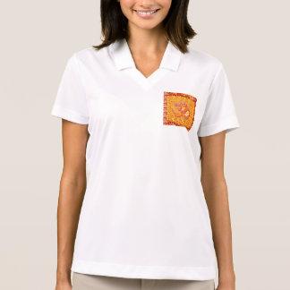 SALUD de la meditación de la yoga del canto de OmM Camisetas Polos