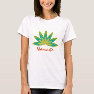 Salud del profesor de la meditación de la yoga de camiseta