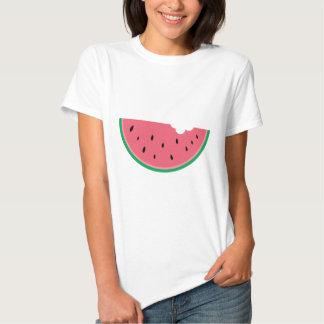 Salud dulce de la fruta de las sandías de la camiseta