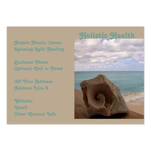 Salud holística de Reiki de la medicina alternativ Tarjetas De Visita