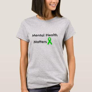 Salud mental camiseta