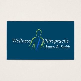 Salud moderna de la clínica del Chiropractor de la Tarjeta De Negocios