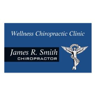 Salud moderna de la clínica del Chiropractor de la Tarjetas De Visita