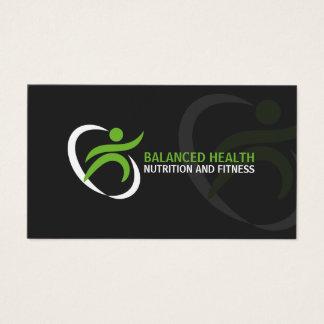 Salud y coche de la nutrición tarjeta de negocios