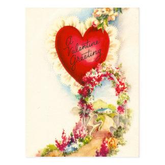 Saludo de la tarjeta del día de San Valentín del