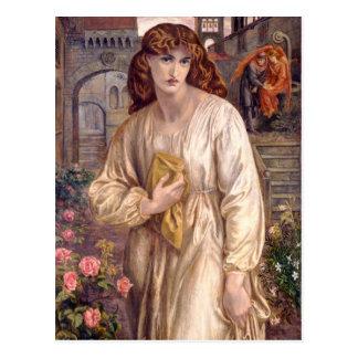 Saludo de Rossetti de la postal de Beatriz CC0646