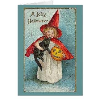 Saludo de Samhain Tarjeta