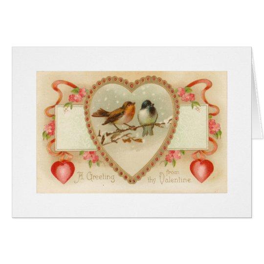 Saludo de Thy tarjeta del día de San Valentín