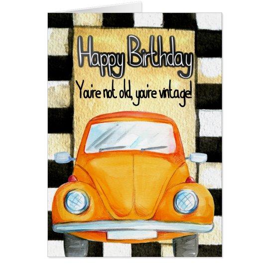 Saludo del cumpleaños tarjeta de felicitación