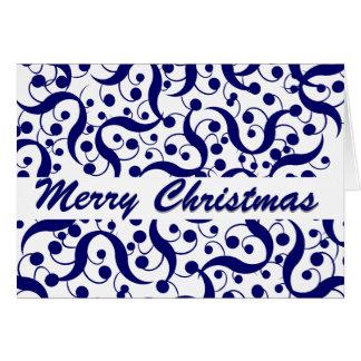 Saludo del navidad moderno felicitaciones