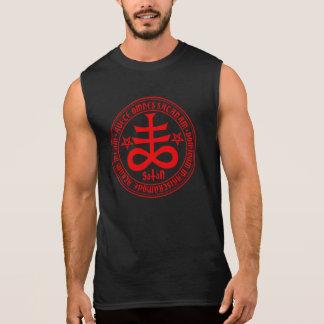 Saludo Satan - cruz satánica Camiseta Sin Mangas