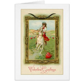 Saludos 1 de la tarjeta del día de San Valentín