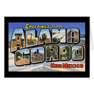 Saludos de Álamo Gordo New México Felicitacion