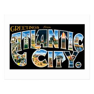 ¡Saludos de Atlantic City! Postales