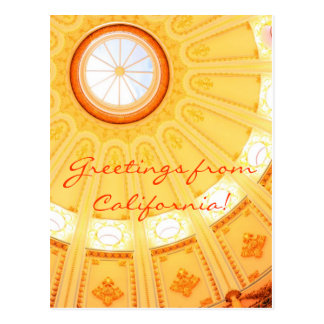 Saludos de California… Tarjeta Postal