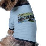 Saludos de Chattanooga Tennesee Camisa De Perro