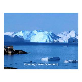 Saludos de Groenlandia 9 Postal