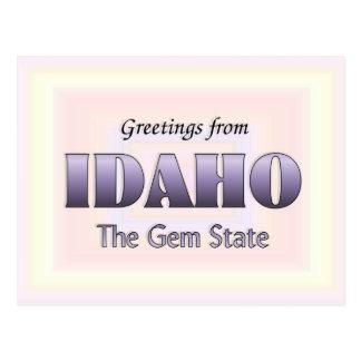 Saludos de Idaho Postal