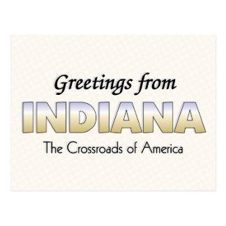 Saludos de Indiana Postal