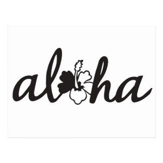 Saludos de la hawaiana postal