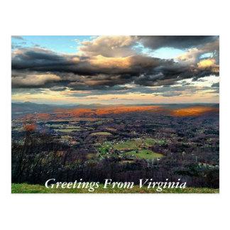 Saludos de la postal 6 de Virginia