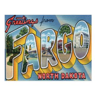 Saludos de la postal de Fargo