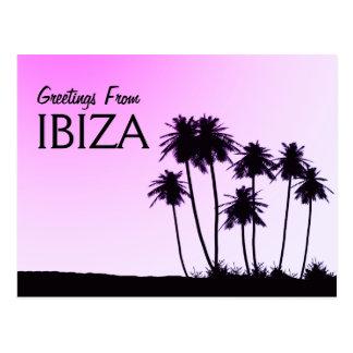 Saludos de la postal de Ibiza