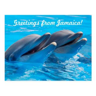 Saludos de la postal de Jamaica