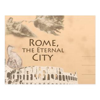 Saludos de la postal romana de Colosseum Roma