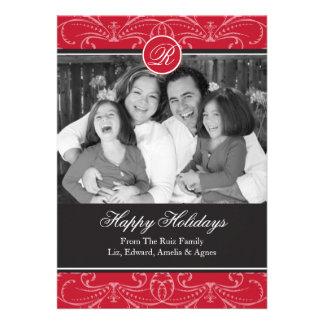Saludos de la tarjeta de la foto del día de fiesta
