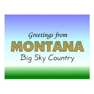 Saludos de Montana Postal