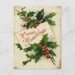 Saludos de Navidad del vintage