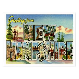 Saludos de New Hampshire Postal