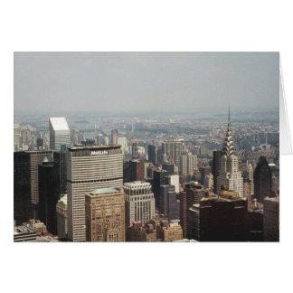 Saludos de Nueva York, Nueva York Tarjeta De Felicitación