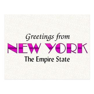Saludos de Nueva York Postal