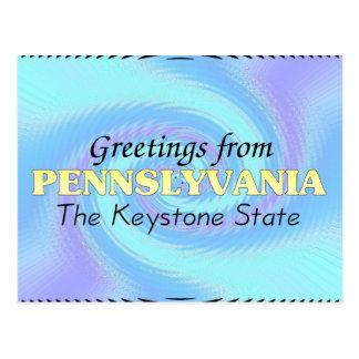 Saludos de Pennslyvania Postal