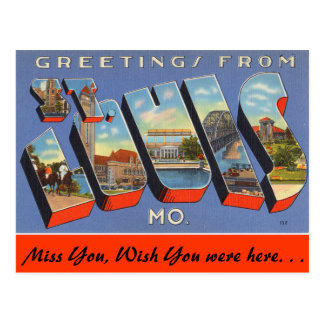 Saludos de St. Louis Postal