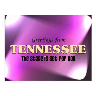 Saludos de Tennessee Postal