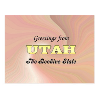 Saludos de Utah Postal