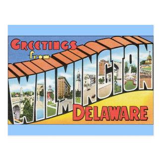 Saludos de Wilmington Delaware Postal