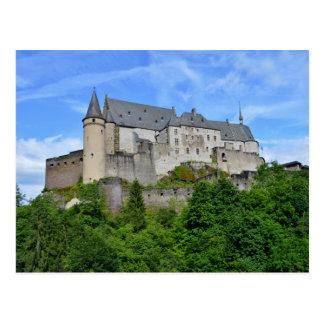 ¡Saludos del castillo de Vianden! Postal