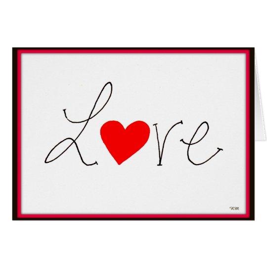 Saludos del el día de San Valentín Tarjeta De Felicitación