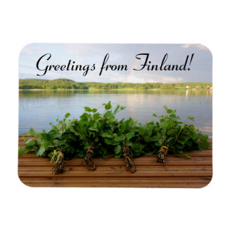 Greetings from Finland magnet