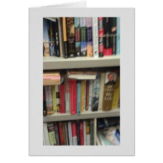 Saludos del retiro del bibliotecario tarjeta de felicitación