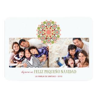 Saludos Invitaciones de Navidad del pequeño de Invitación 11,4 X 15,8 Cm