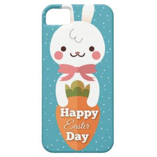 Saludos lindos de pascua del conejo de conejito funda para iPhone SE/5/5s