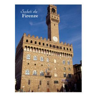"""Saluti postal de DA Firenze"""