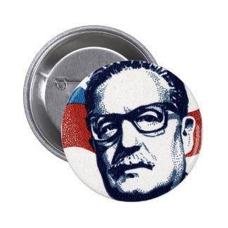 Salvador Allende - Venceremos Chapa Redonda De 5 Cm